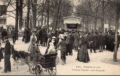 Les Guignols de l'avenue des Champs-Elysées, amusement pour petits et grands, vers 1905  (Paris 8ème)