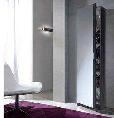 Mueble zapatero vertical modelo Coral II. #mueblezapatero #zapateros #zapaterobarato #mueblekit #puntogar