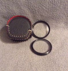 Vintage Pair of Soligor 46mm Lens Filters on Etsy, $15.00
