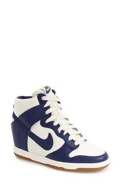 buy popular 46cc0 ca03f Black Nike  Dunk Sky Hi - Essential  Wedge Sneaker (Women) available at