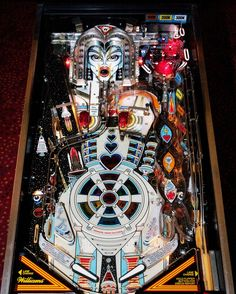 Bride of Pinbot Pinball Machine - Awesome game. Sound effects can be a bit risque, however.