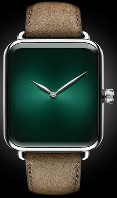 H. Moser & Cie. Swiss Alp Watch Concept Cosmic Green