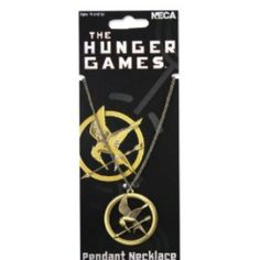 Mockingjay pendant necklace