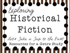 Beginning your Genre Study of Historical Fiction? This is a great supplemental resource for teaching a Historical Fiction unit in Reading Workshop. You will find resources for whole class genre lessons, read aloud, or mini-lessons, as well as graphic orga Genre Lessons, Library Lessons, Library Ideas, Teaching Reading, Reading Help, Guided Reading, Text To Self Connection, Text To World, Text To Text Connections