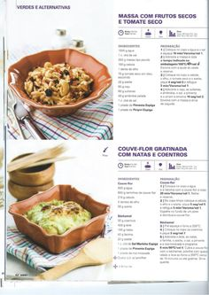 Revista bimby pt-s02-0038 - janeiro 2014 Delicious Meals, Yummy Food, Meal Recipes, Healthy Recipes, Kitchen Reviews, Paleo, Guacamole, Food And Drink, Felt