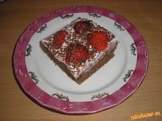 Jahodový koláčik...jednoduchý a rýchly