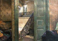 matteo massagrande opere - Cerca con Google Art Ancien, Painting & Drawing, Still Life, Modern Art, Images, Stairs, Indoor, Fine Art, Gallery
