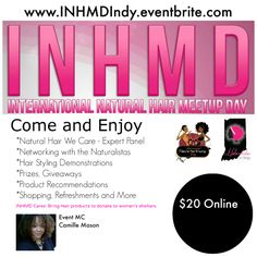 #INHMDIndy May 17th! Get your tickets now. See you there...