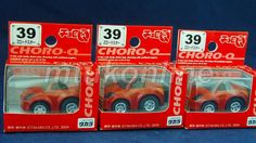 CHORO-Q STANDARD 2004 | NISSAN 350Z ROADSTER | NO.39 | RED | SELL AS LOT