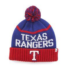 a0df36c1d0a14 Texas Rangers Linesman Cuff Knit Royal 47 Brand Hat