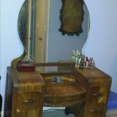 Giving a 1942 Vanity Table a New Life