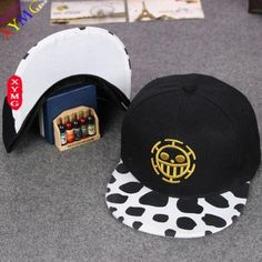 c4f80ddece4 One Piece Trafalgar Law Snapback Hat Anime Merchandise
