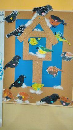 Techno, Kindergarten, Birds, Programming, Winter, Kid, Kindergartens, Bird, Techno Music