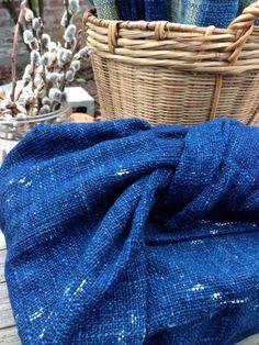 Organic handwoven multipurposed tea towel / Furoshiki by ikatandme