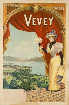 Vevey - Galerie 123 - Original Vintage Posters