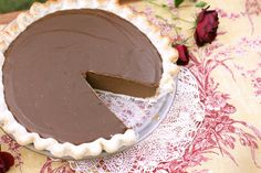 The Best Dairy Free Avocado Chocolate Cream Pie With Whipped Coconut Cream Recipe | WholeLifestyleNutrition.com