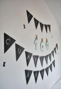 INSPIRACIÓN: dos fiestas de cumpleaños low cost (I) #scandinaviandecoration #nordicdecoration