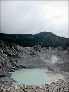 Tangkuban Perahu, Jawa Barat, Indonesia