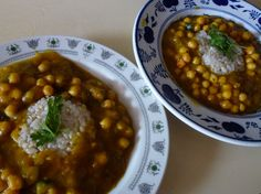 Vegan pumpkin sauce with chickpeas. #vegan #gluten-free