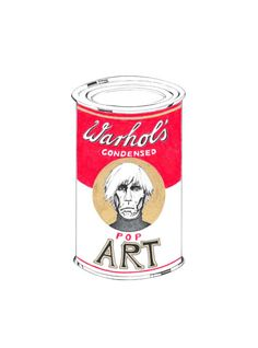 Andy Warhol's Condensed Pop Art | jompitz