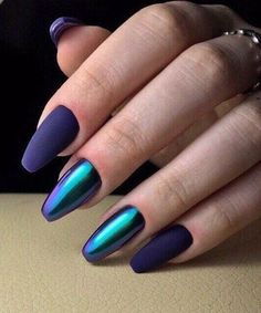 """If you're unfamiliar with nail trends and you hear the words """"coffin nails,"""" what comes to mind? It's not nails with coffins drawn on them. It's long nails with a square tip, and the look has. Beautiful Nail Art, Gorgeous Nails, Pretty Nails, Hot Nails, Hair And Nails, Crome Nails, Nagellack Trends, Fancy Nails, Nagel Gel"""