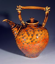 Amazing collection!  National Teapot Exhibition and Sale Teapots-A-Go-Go 2006 at MudFire Gallery