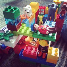 Lego zoo built by the kiddies #babysitting #nyc #lego #fun