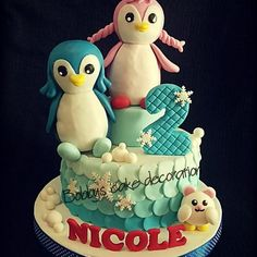 An amazing Badanamu birthday cake!