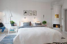 nordic main bedroom (via Alvhem)     XXXbureauofjewels/etsy and facebook