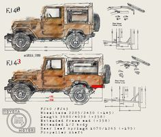 Toyota Fj40, Toyota Land Cruiser, 4x4, Jeep, Cars, Classic, Wallpapers, Projects, Logos