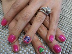 Notre Dame Nail design