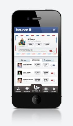 Bounce It for iPhone - UltraUI   UI Design & Inspiration