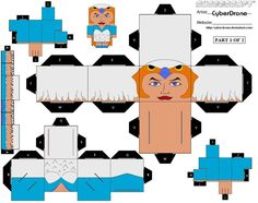 PaperToy_The Sorceress 1A