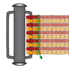 Flat Peyote Clasp - Option 1 | Beading Techniques | Fusion Beads