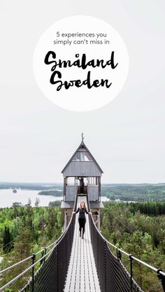 travel destinations unique 5 nature attractions in Smland, Sweden a travel guide - SarahintheGreen Europe Travel Tips, European Travel, Places To Travel, Travel Guide, Travel Destinations, Travel Tours, Holiday Destinations, Travel Advice, Voyage Suede
