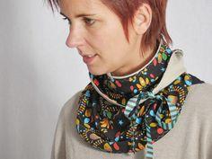 Tutoriel DIY: Coudre une écharpe-col à ruban via DaWanda.com