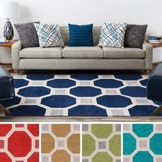 Shop for Hand-Tufted Crewe Moroccan Trellis Rug (5' x 7'6). Get free shipping at Overstock.com - Your Online Home Decor Outlet Store! Get 5% in rewards with Club O! - 17122787