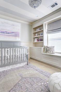 One Room Challenge :: Week 6 Baby Girl's Lavender Nursery Reveal