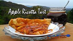 Meatless Monday ~ Apple Ricotta Tart | The Mountain Kitchen