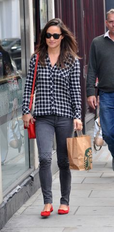 Pippa Middleton - love the jeans