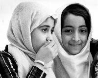 Peter Hoffmann, Iran, Two girls, village Chak - Chak