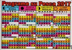 Tabla lunar y horaria ~ Programa tu salida de pesca segùn la tabla lunar y horaria