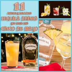 Delicious Tequila Drinks - Don't Poke The Bear