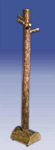 montana woodworks mwgctct glacier country log tree coat rack by montana woodworks 9139 alba chromy coat tree knobs