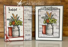 August Stamp It Blog Hop - Theme: Fall ⋆ Tina Wardell~Stampin' Up! Independent Demonstrator Christmas In July, Christmas Themes, Love You Images, Coloring Tutorial, Fall Cards, Stamping Up, Rubber Stamping, Autumn Theme, Card Kit