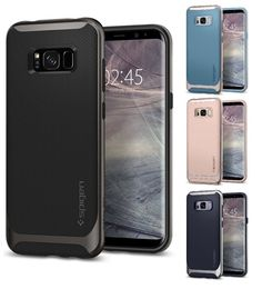 Spigen Samsung Galaxy S8 Hülle Schutz Handyhülle Silikon Case Cover Schutzhülle