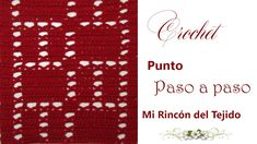 ❤ ✿ Mi Rincón del Tejido ✿ ❤: Como tejer un HERMOSO PUNTO FANTASIA CROCHET video tutorial paso a paso - How to CROCHET FANTASY STITCH step by step video tutorial Crochet Videos, Youtube, Crochet Patterns, Diagram, Stitch, Words, Crocheting, Crochet Costumes, Knitting Patterns