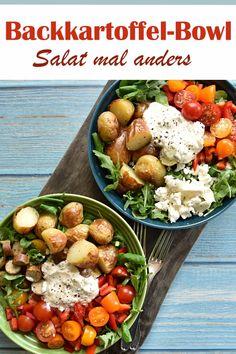 Easy Healthy Recipes, Veggie Recipes, Easy Meals, Salad Recipes, Healthy Vegan Breakfast, Healthy Eating, Recipes Breakfast Video, Food Bowl, Evening Meals