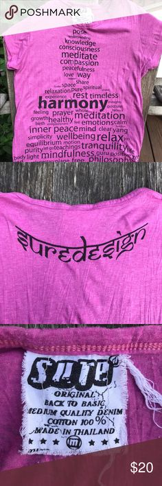 Women's t-shirt Motivating and inspirational like-new t-shirt. Form-fitting-ish (not big and boxy). Worn a handful of times. I love it I am just trying to simplify my possessions. :-) Sure Design Tops Tees - Short Sleeve