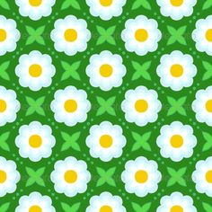 Pattern with Bold Stylized Flowers in 1970s Style  #GraphicRiver         Floral geometric seamless vector pattern with bold stylized white flowers and leaves in 1970s style. Texture background for web, print, home decor, fashion textile, wrapping paper, website background     Created: 19July13 GraphicsFilesIncluded: JPGImage #VectorEPS #AIIllustrator Layered: No MinimumAdobeCSVersion: CS Tags: abstract #art #artistic #background #bold #ceramictile #decor #design #drawing #element #fabric…